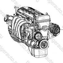 Каталог Двигатель в сборе Lifan Smily