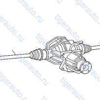 Каталог REAR DRIVE SHAFT (2) Luxgen 7 SUV