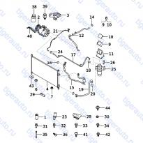Каталог CONDENSER,PIPE,COMPRESSOR SYSTEM Chery Very (A13A)