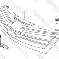 Каталог RADIATOR GRILLE SYSTEM Chery Very (A13A)