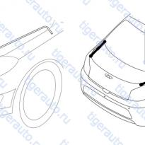Каталог ENGINE HOOD SUPPORT ROD SYSTEM Chery Very (A13A)