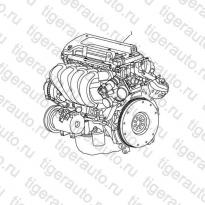 Каталог ENGINE ASSY# Geely Emgrand X7