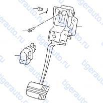 Каталог BRAKE & CLUTCH PEDAL Luxgen 7 SUV