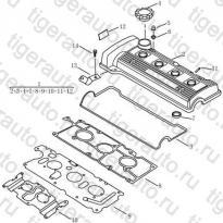 Каталог Клапанная крышка (EURO-4) Geely MK Cross