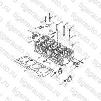 Каталог Головка блока цилиндров (EURO-4) Geely MK Cross