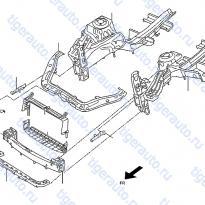 Каталог FRONT APRON & RADIATOR CORE SUPPORT Luxgen 7 SUV
