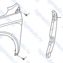 Каталог FRONT FENDER & FITTING (2) Luxgen 7 SUV