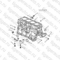 Каталог Блок цилиндров (EURO-3) Geely MK08