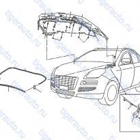 Каталог HOOD PANEL, HINGE & FITTING Luxgen 7 SUV
