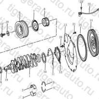 Каталог Коленчатый вал (EURO-3) Geely MK Cross