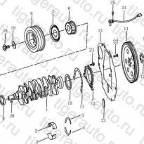 Каталог Коленчатый вал (EURO-4) Geely MK Cross