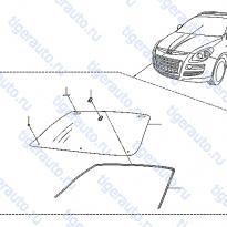 Каталог FRONT WINDSHIELD Luxgen 7 SUV