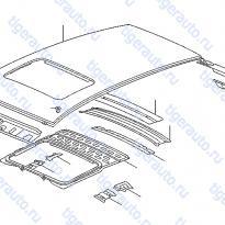 Каталог ROOF PANEL & FITTING (2) Luxgen 7 SUV