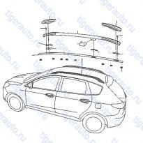 Каталог ROOF PANEL & FITTING (3) Luxgen 7 SUV