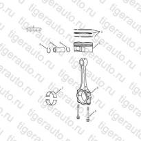 Каталог PISTON# Geely Emgrand X7