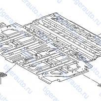 Каталог FLOOR PANEL(REAR) Luxgen 7 SUV