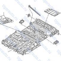 Каталог FLOOR FITTING (PANEL) Luxgen 7 SUV