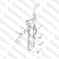 Каталог TIMING CHAIN COVER Geely Emgrand X7
