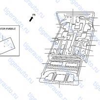 Каталог FLOOR FITTING (2) Luxgen 7 SUV