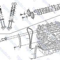 Каталог CAMSHAFT & VALVE MECHANISM Luxgen 7 SUV