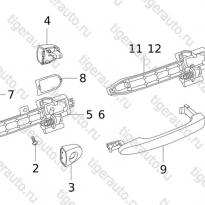 Каталог DOOR HANDLE (AA) Chery Tiggo 5 (T21)