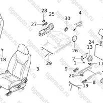 Каталог FR SEAT Chery Tiggo 5 (T21)