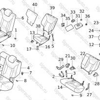Каталог MD&RR SEAT Chery Tiggo 5 (T21)
