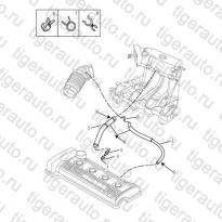 Каталог Клапан вентиляции картера (EURO-3) Geely MK Cross