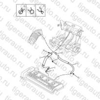 Каталог Клапан вентиляции картера (EURO-4) Geely MK Cross