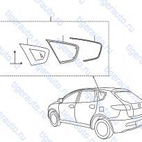 Каталог SIDE WINDOW Luxgen 7 SUV