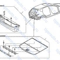 Каталог TRUNK ROOM TRIMMING Luxgen 7 SUV