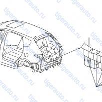 Каталог TRUNK ROOM TRIMMING (2) Luxgen 7 SUV