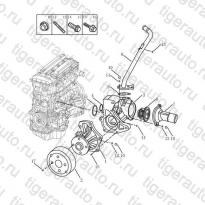 Каталог WATER PUMP Geely Emgrand X7