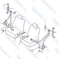 Каталог FRONT SEAT BELT Luxgen 7 SUV