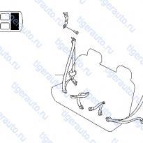 Каталог REAR SEAT BELT (2) Luxgen 7 SUV