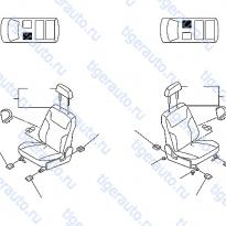 Каталог FRONT SEAT Luxgen 7 SUV