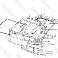 Каталог BACK DOOR PANEL & FITTING Luxgen 7 SUV