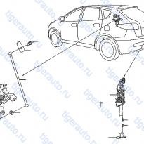 Каталог BACK DOOR LOCK & HANDLE Luxgen 7 SUV