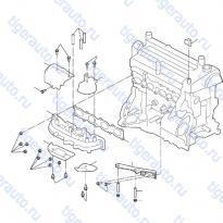 Каталог INTAKE & EXHAUST MANIFOLD (2) Luxgen 7 SUV