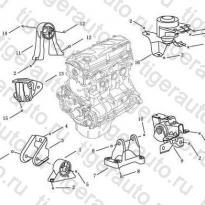 Каталог ENGINE MOUNT Geely Emgrand EC8