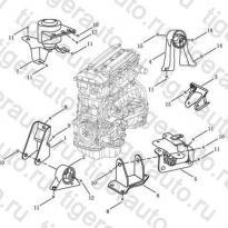 Каталог ENGINE MOUNT# Geely Emgrand EC8