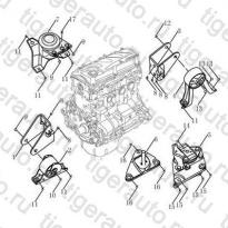 Каталог ENGINE MOUNT## Geely Emgrand EC8