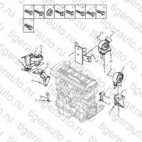 Каталог Опоры двигателя (S160G) Geely MK08