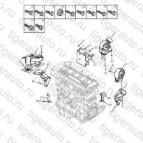 Каталог Опоры двигателя (AT) Geely MK08