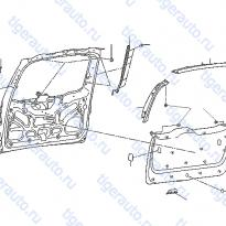 Каталог BACK DOOR TRIMMING Luxgen 7 SUV