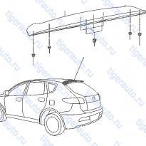 Каталог AIR SPOILER Luxgen 7 SUV