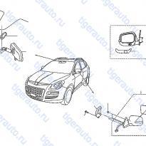 Каталог REAR VIEW MIRROR Luxgen 7 SUV
