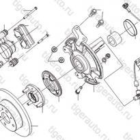 Каталог Передние тормоза (без ABS) Lifan Smily