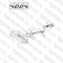 Каталог Горловина топливного бака Geely MK08
