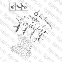 Каталог Топливная рампа (EURO-4) Geely MK08